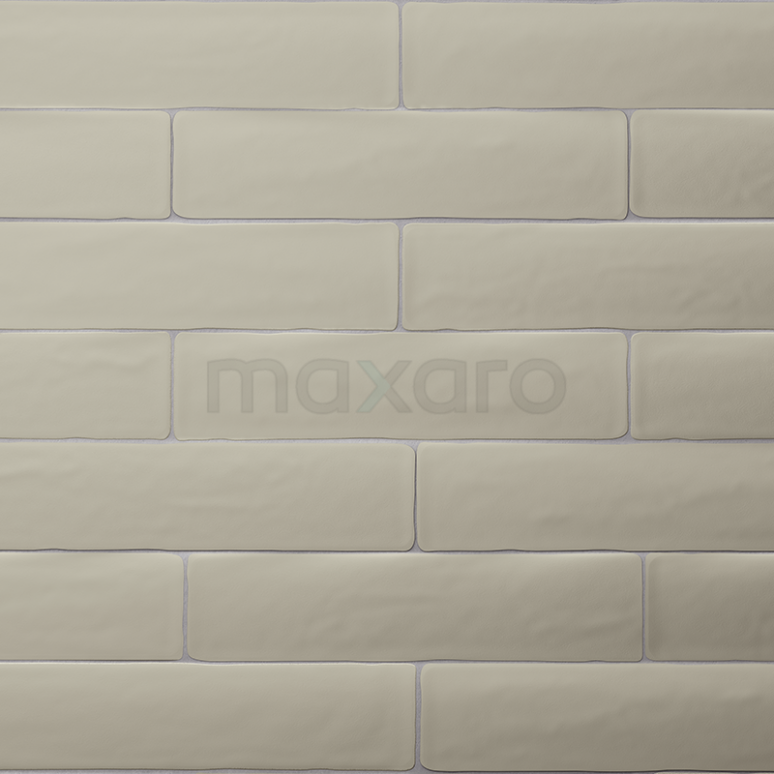 Wandtegel Horizon 7,7x28,5cm Uni Groen Mat Handvorm