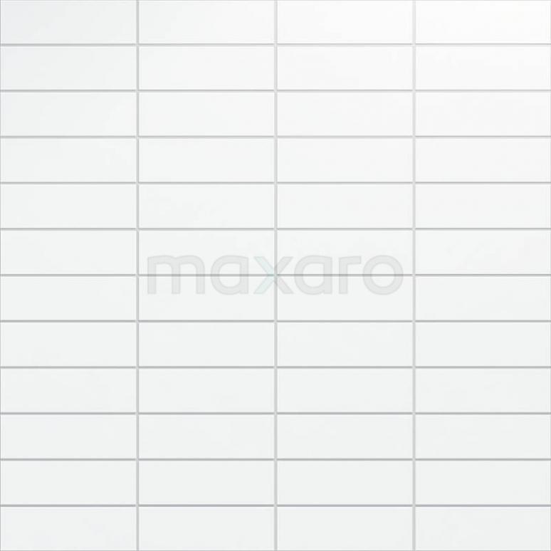 Tegel Blanco 501-050102 Wandtegel Blanco 10x30cm Uni Wit Mat