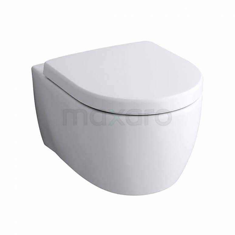 Hangend Toilet Icon Diepspoel Wit