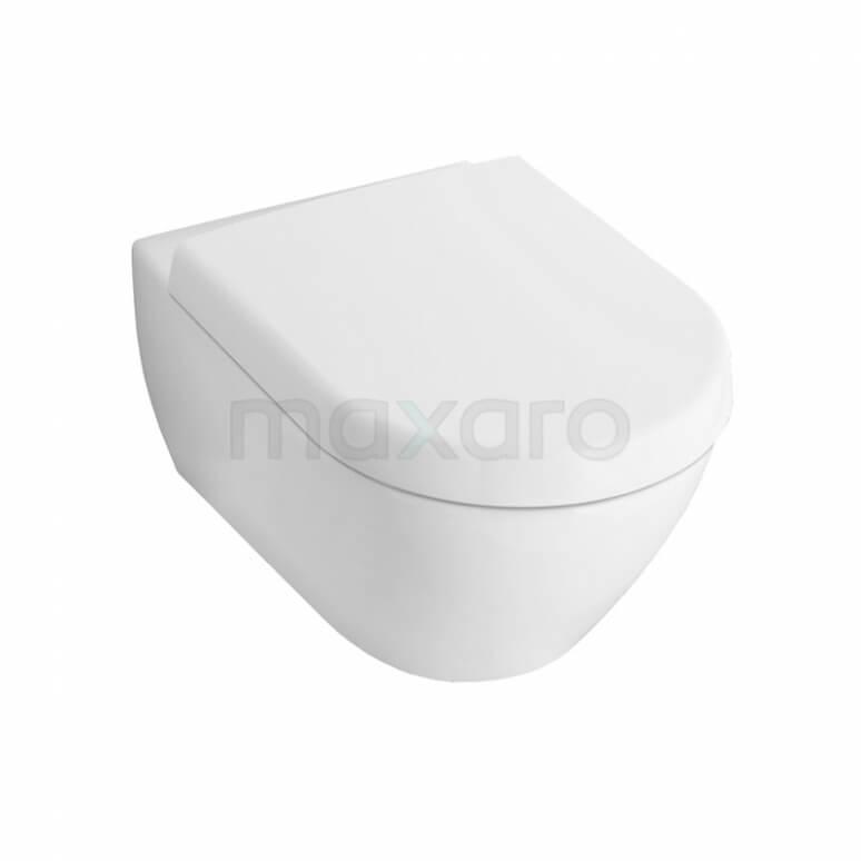 Villeroy en Boch Subway 2.0 Toilet, Diepspoel, Wit