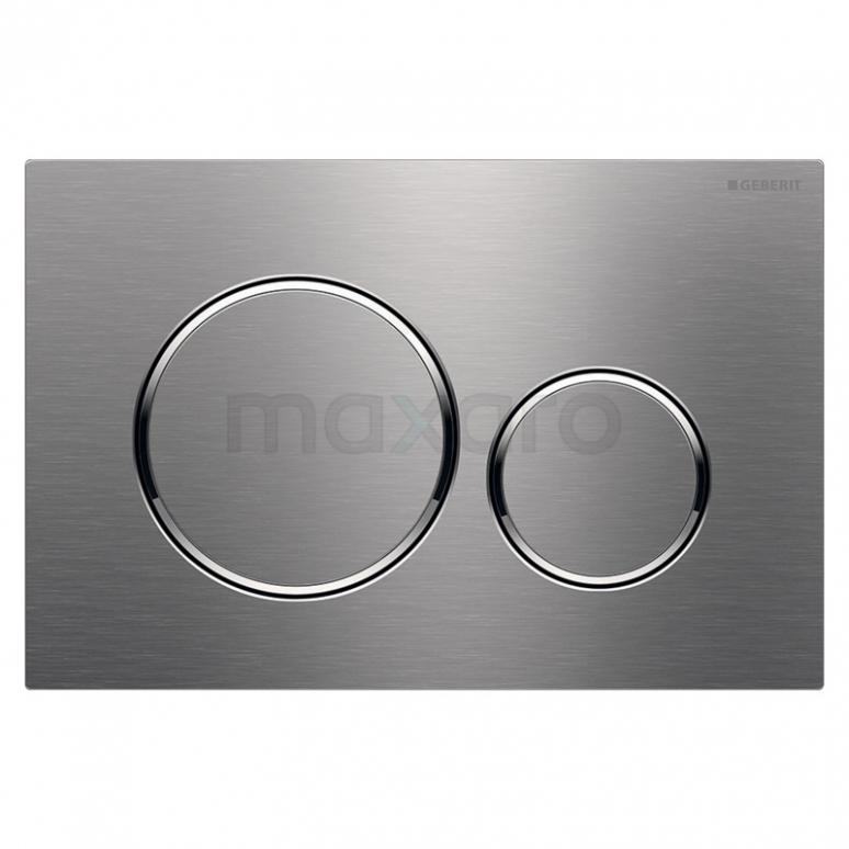 Bedieningspaneel Toilet Sigma 20 Brushed Steel