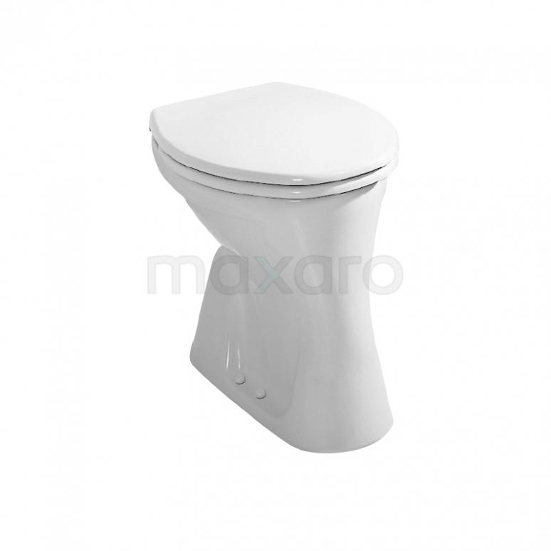 Toiletpot Staand Dino Vlakspoel Wit