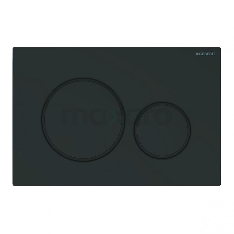 Bedieningspaneel Toilet Sigma 20 Zwart Mat