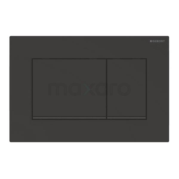 Bedieningspaneel Toilet Sigma 30 Zwart Mat