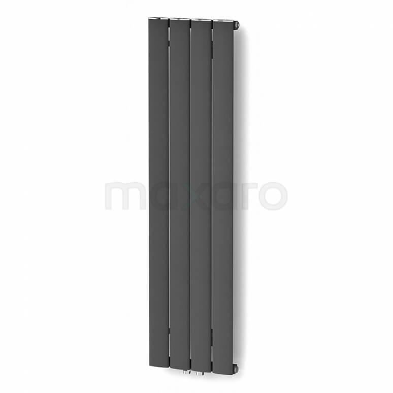 Maxaro Eris DR56_0412RD Aluminium Designradiator Eris Donkergrijs Metallic