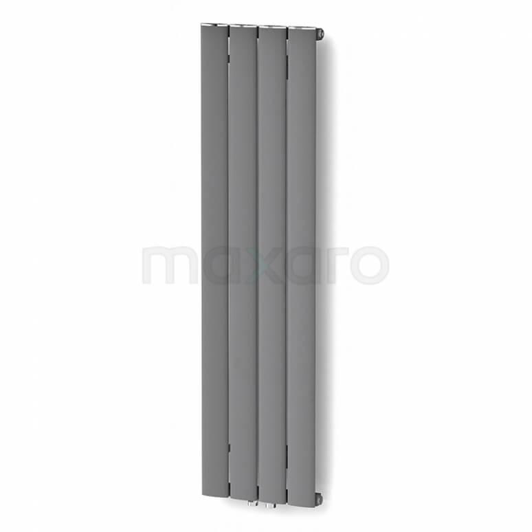 Maxaro Eris DR56_0412RL Aluminium Designradiator Eris Lichtgrijs Metallic 589 Watt 31,5x120cm Verticaal