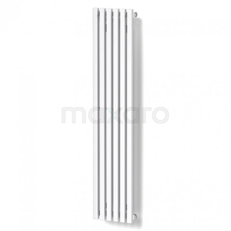 Aluminium Designradiator Sol Wit 524 Watt 25x120cm Verticaal