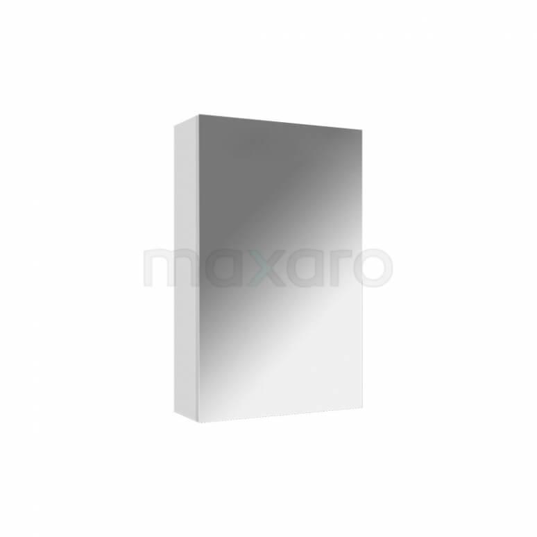 Spiegelkast Lato 40x60cm Hoogglans Wit 1 Deur