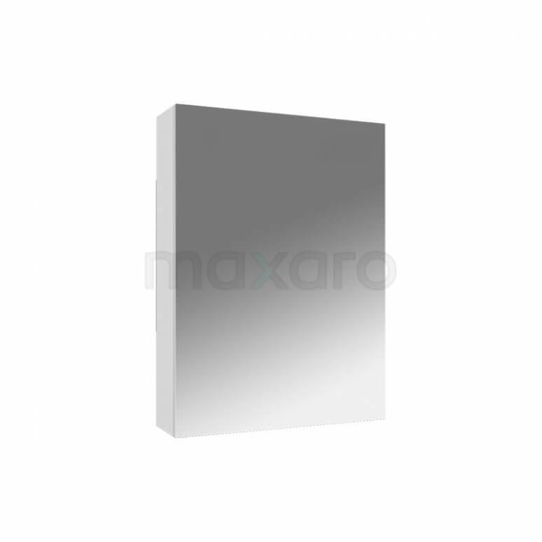 Maxaro K01 K01-0450-40401 Spiegelkast 45x60cm Hoogglans Wit 1 Deur