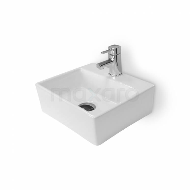 Fonteintje WC Clasico Keramiek Wit met Kraangat