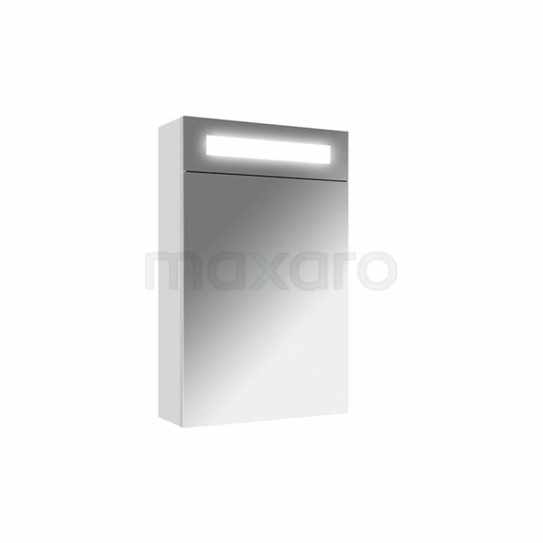 Maxaro K31 K31-0400-40412 Spiegelkast met Verlichting 40x65cm Hoogglans Wit