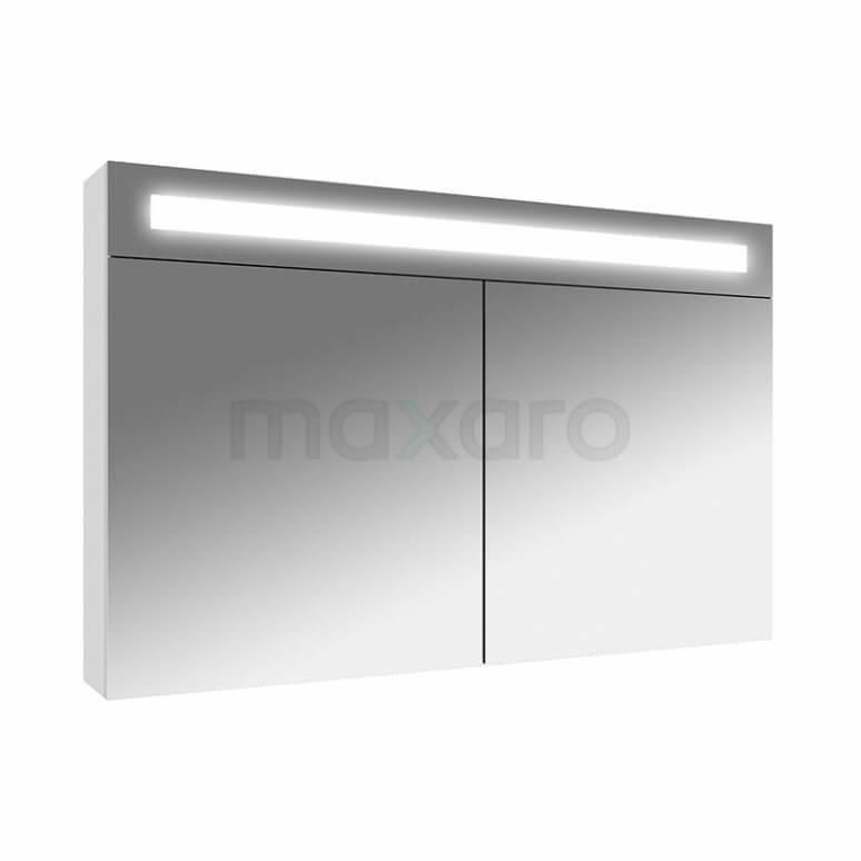 Spiegelkast met Verlichting Filo 100x65cm Hoogglans Wit