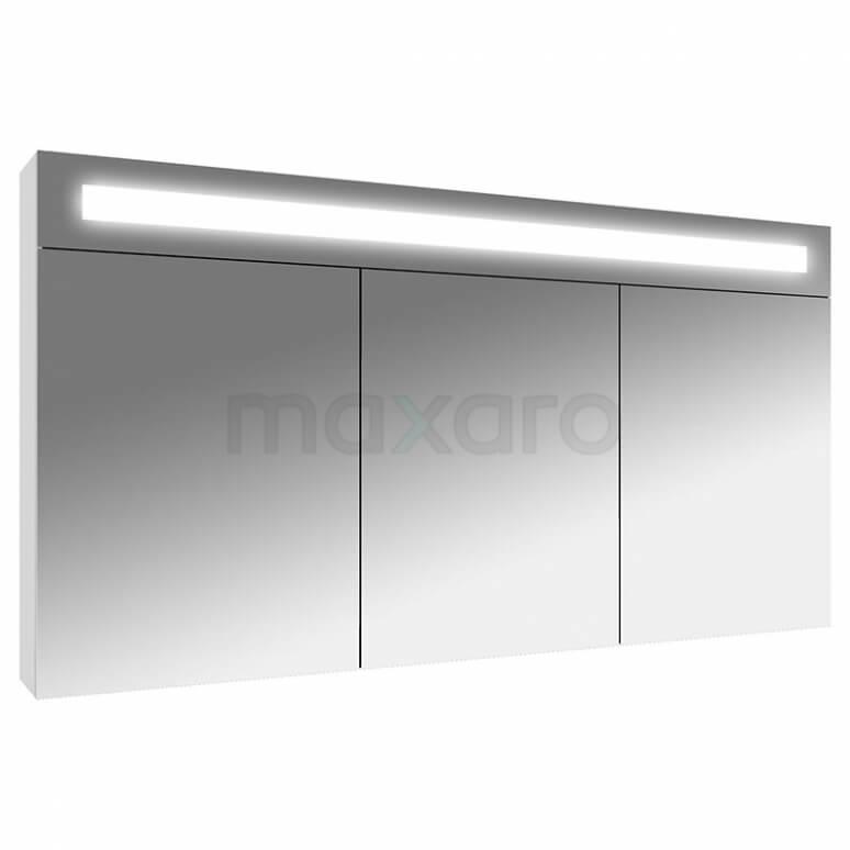 Spiegelkast met Verlichting Filo 120x65cm Hoogglans Wit