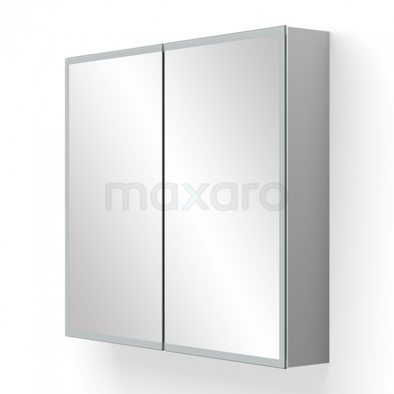 Spiegelkast met Verlichting Lento 80x70cm Stopcontact