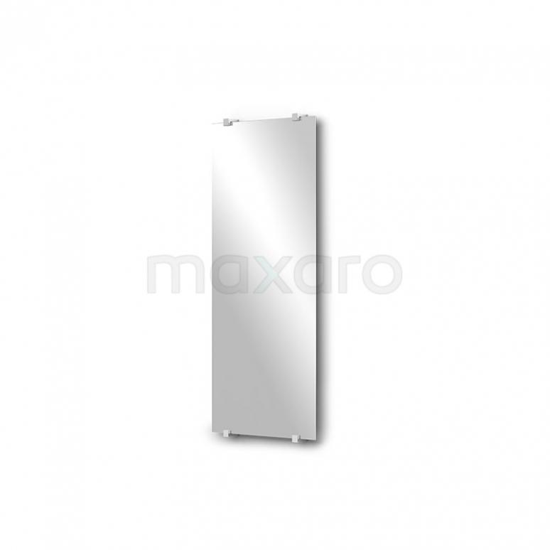 Toiletspiegel Solo 30x70cm Spiegelhouders Vierkant