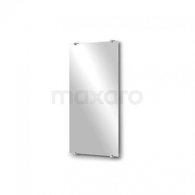 Toiletspiegel Solo 40x70cm Spiegelhouders Rond