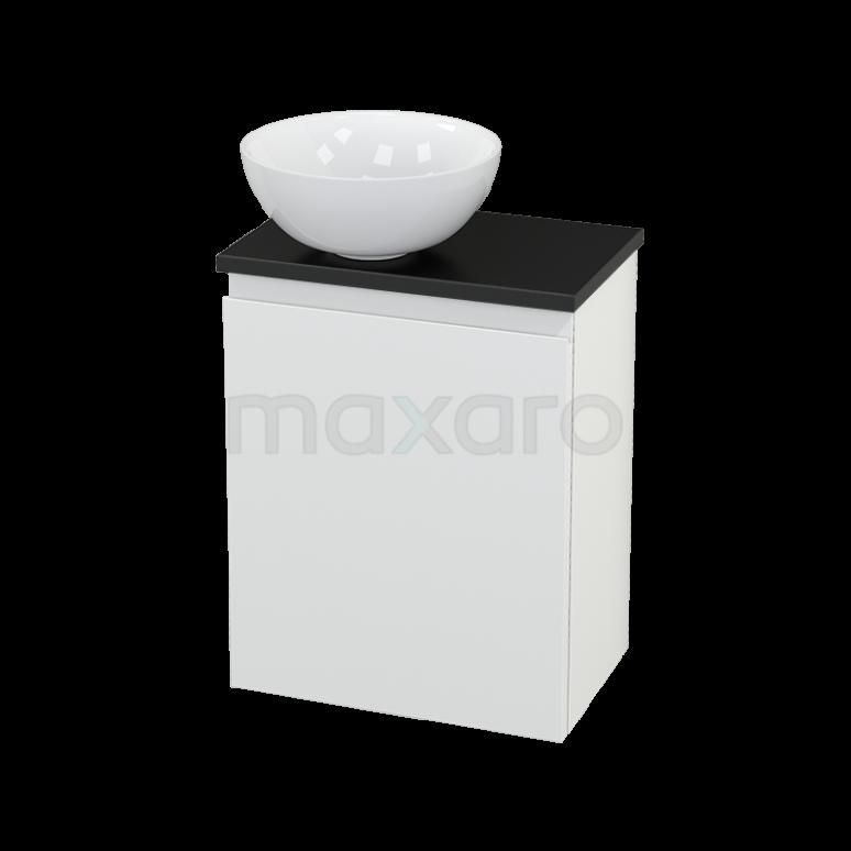 Toiletmeubel met Waskom Keramiek Modulo+ Pico Mat Wit 41cm