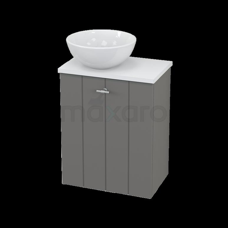 Toiletmeubel met Waskom Keramiek Modulo+ Pico Basalt 41cm