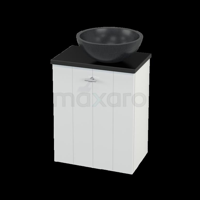 Toiletmeubel met Waskom Natuursteen Modulo+ Pico Hoogglans Wit 41cm