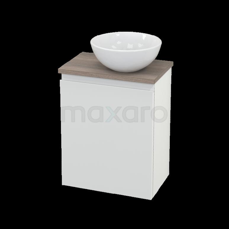 Toiletmeubel met Waskom Keramiek Modulo+ Pico Hoogglans Wit 41cm