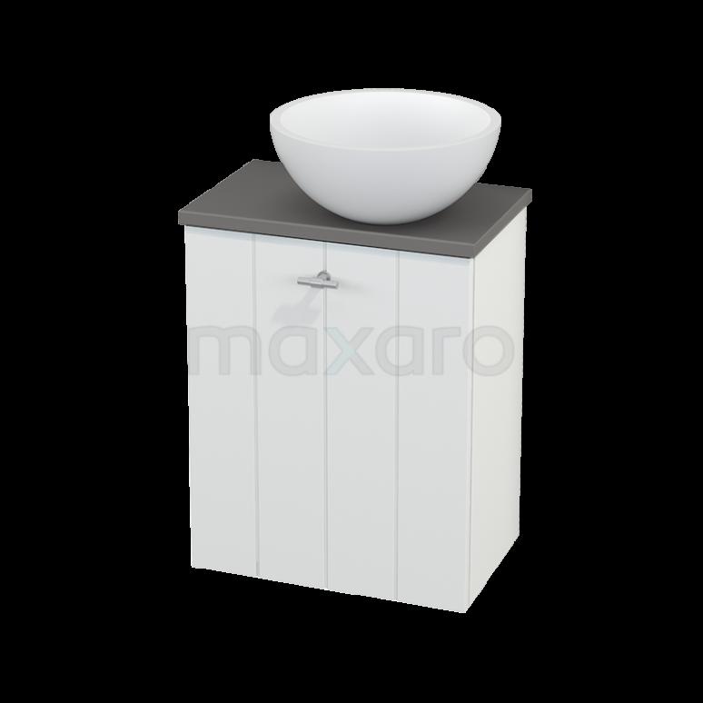 Toiletmeubel met Waskom Solid Surface Mat Modulo+ Pico Mat Wit 41cm