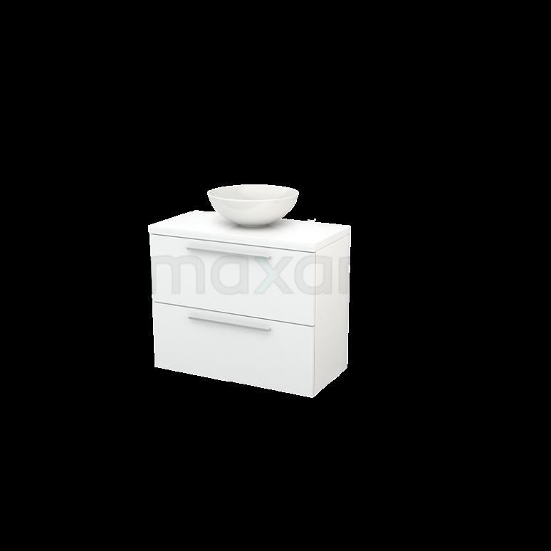 Maxaro Modulo+ Plato Slim BMD000081 Badkamermeubel voor waskom