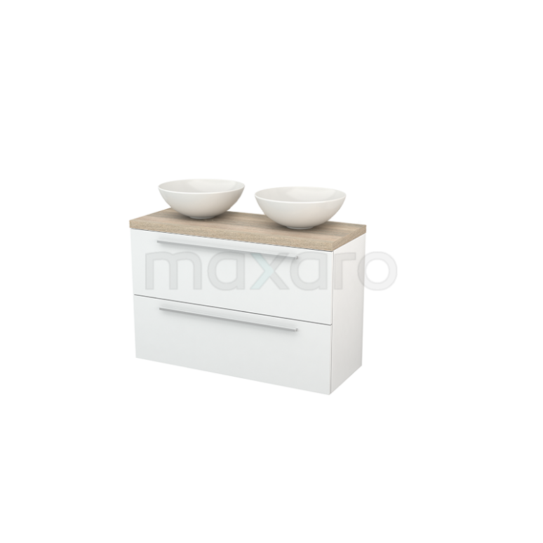 Maxaro Modulo+ Plato Slim BMD000123 Badkamermeubel voor waskom