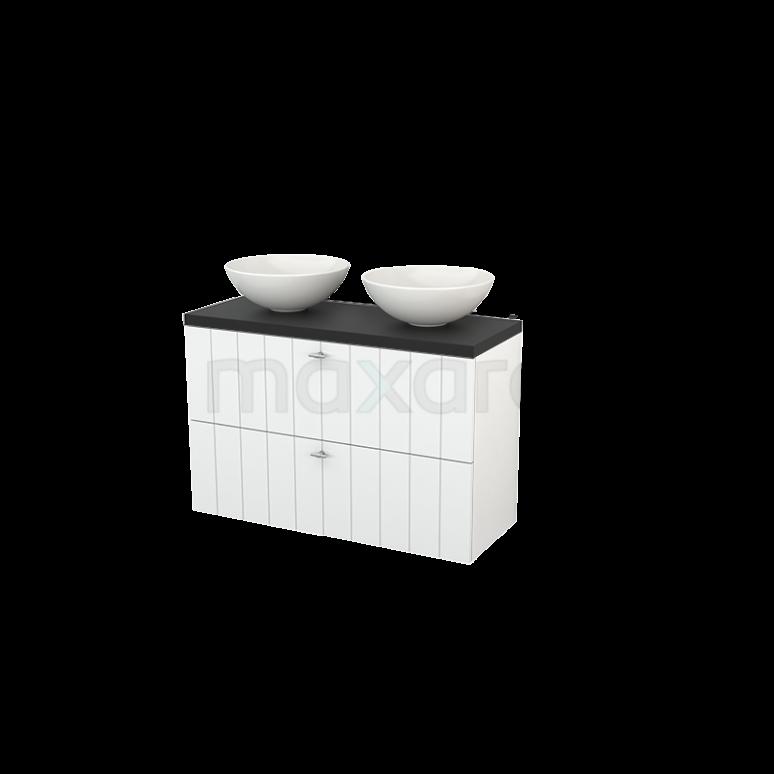 Maxaro Modulo+ Plato Slim BMD000127 Badkamermeubel voor waskom