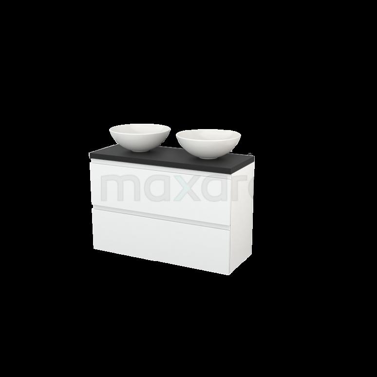 Maxaro Modulo+ Plato Slim BMD000137 Badkamermeubel voor waskom