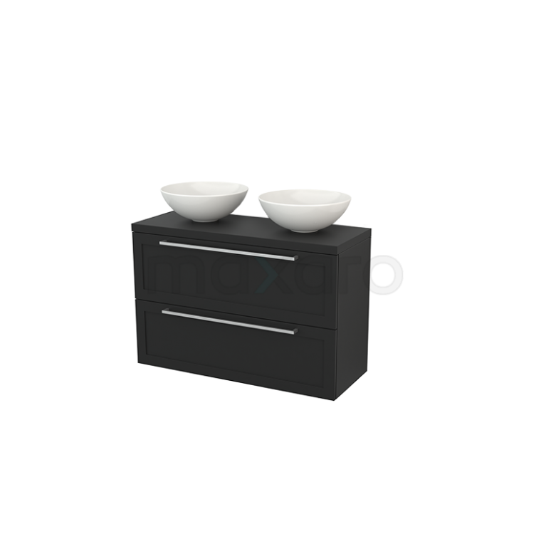 Maxaro Modulo+ Plato Slim BMD000146 Badkamermeubel voor waskom