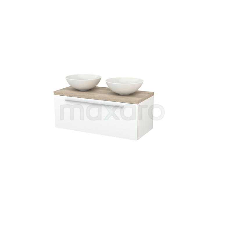 Maxaro Modulo+ Plato BMK001387 Badkamermeubel voor waskom