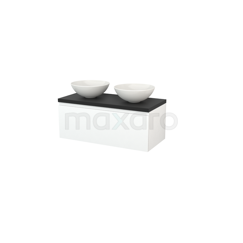 Maxaro Modulo+ Plato BMK001404 Badkamermeubel voor waskom