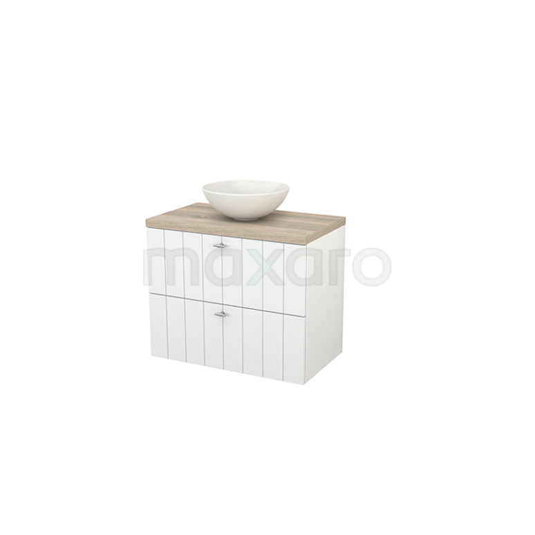 Maxaro Modulo+ Plato BMK001729 Badkamermeubel voor waskom