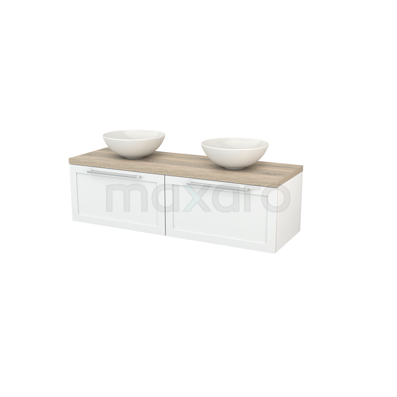 Maxaro Modulo+ Plato BMK002185 Badkamermeubel voor waskom