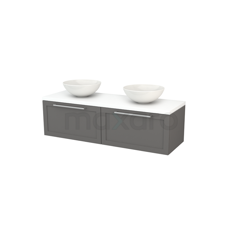 Maxaro Modulo+ Plato BMK002224 Badkamermeubel voor waskom