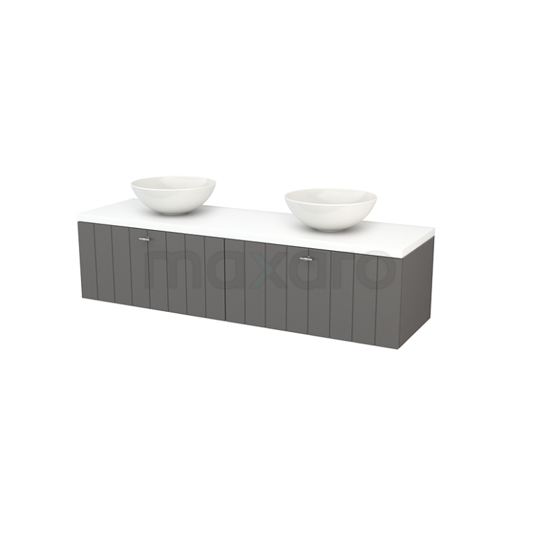 Maxaro Modulo+ Plato BMK002311 Badkamermeubel voor waskom