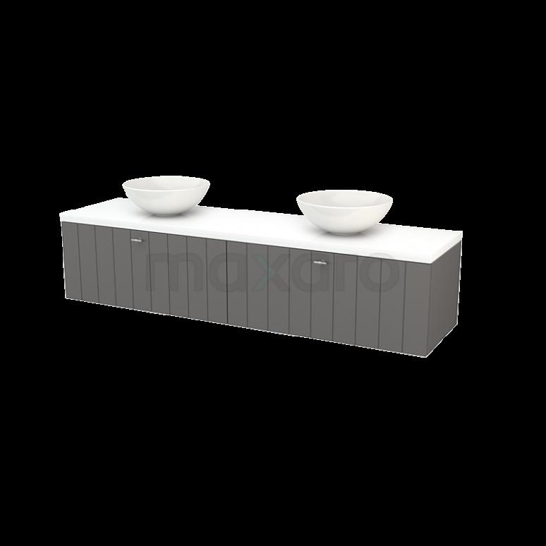 Maxaro Modulo+ Plato BMK002402 Badkamermeubel voor waskom