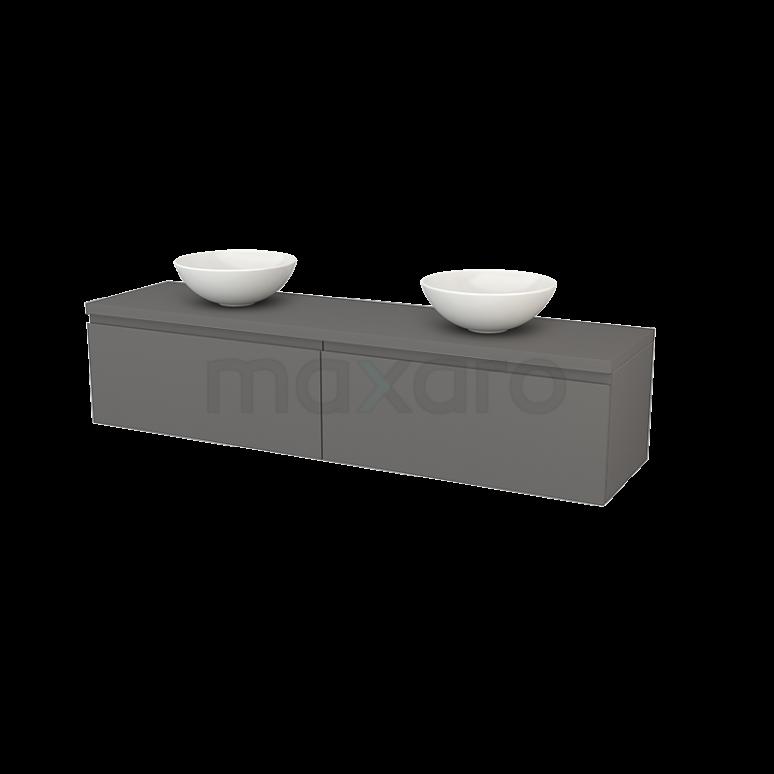 Maxaro Modulo+ Plato BMK002409 Badkamermeubel voor waskom