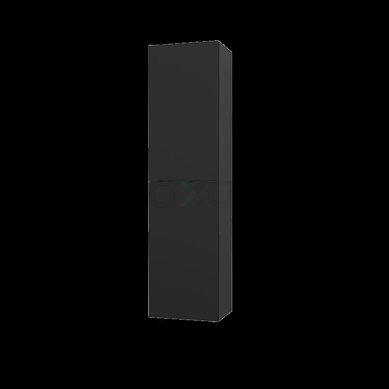 Badkamerkast Grande+ 150x40cm Carbon 2 Deuren Greeploos