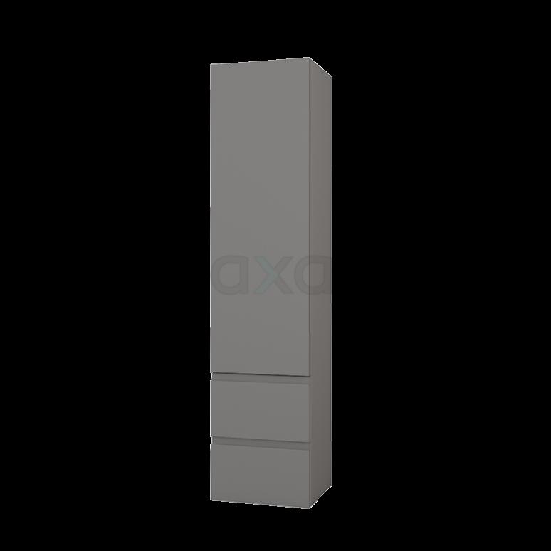 Badkamerkast Lungo+ 170x40cm Basalt 1 Deur