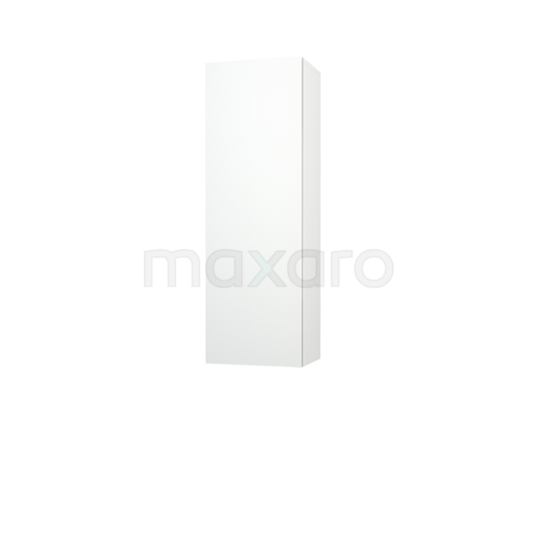 Badkamerkast Medio+ 120x40cm Hoogglans Wit 1 Deur Greeploos