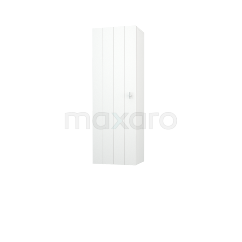 Badkamerkast Medio+ 120x40cm Hoogglans Wit 1 Deur Lamel