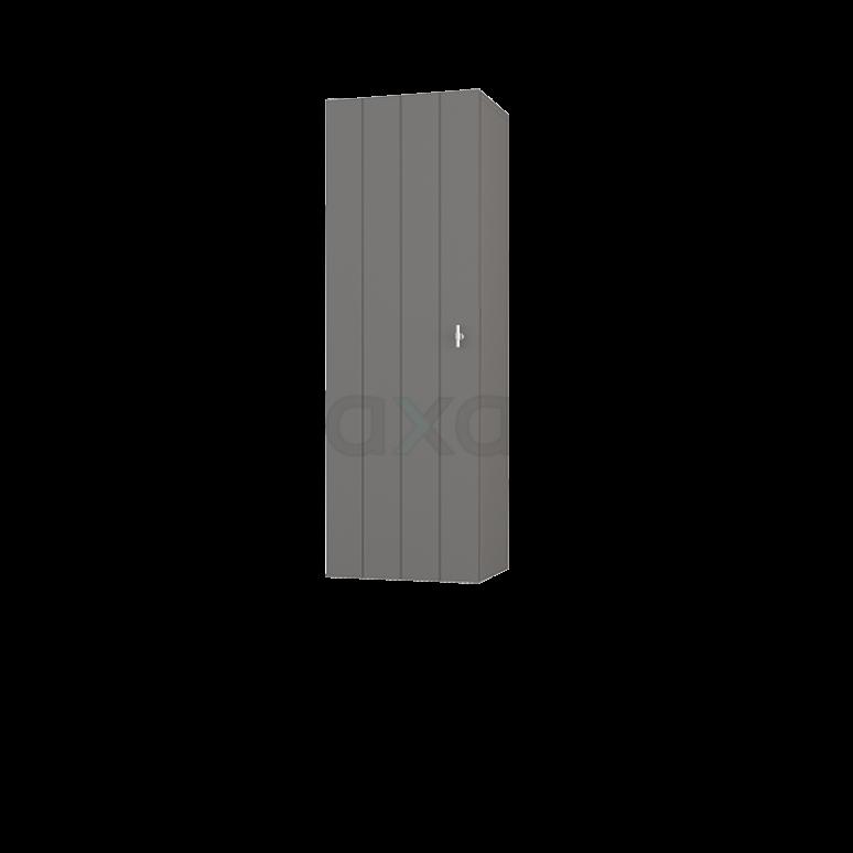 Badkamerkast Medio+ 120x40cm Basalt 1 Deur Lamel