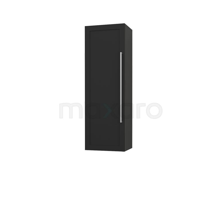 Badkamerkast Medio+ 120x40cm Carbon 1 Deur Kader 50