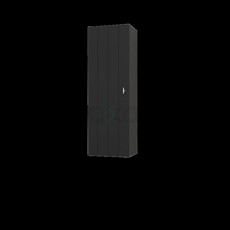 Badkamerkast Medio+ 120x40cm Carbon 1 Deur Lamel