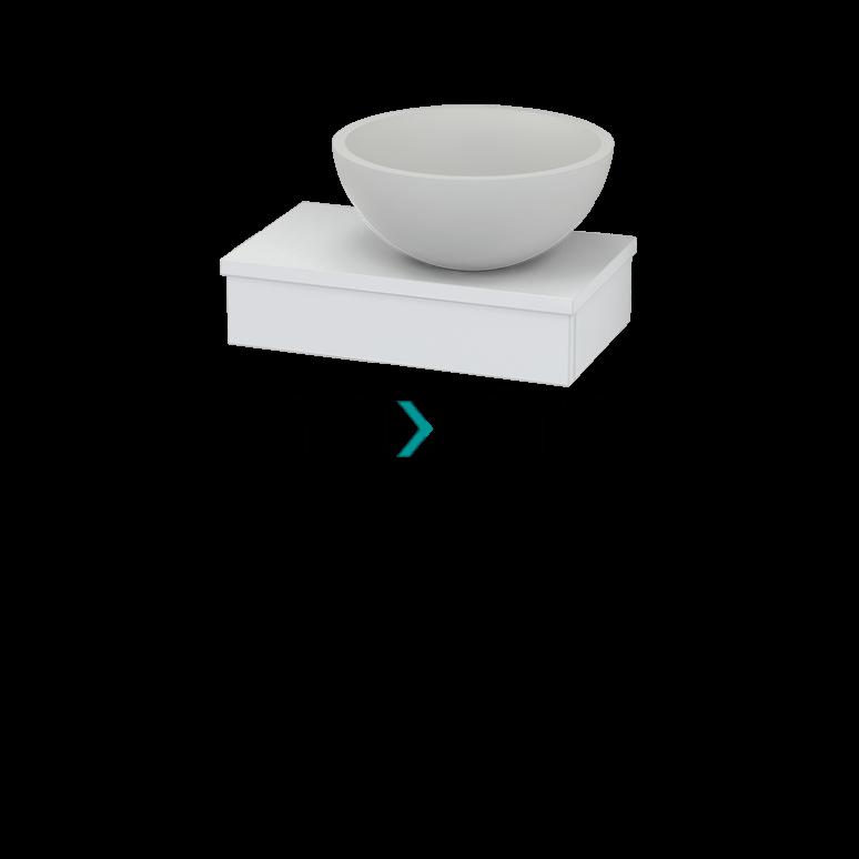 Maxaro Modulo Pico BMT000393 Hangend toiletmeubel