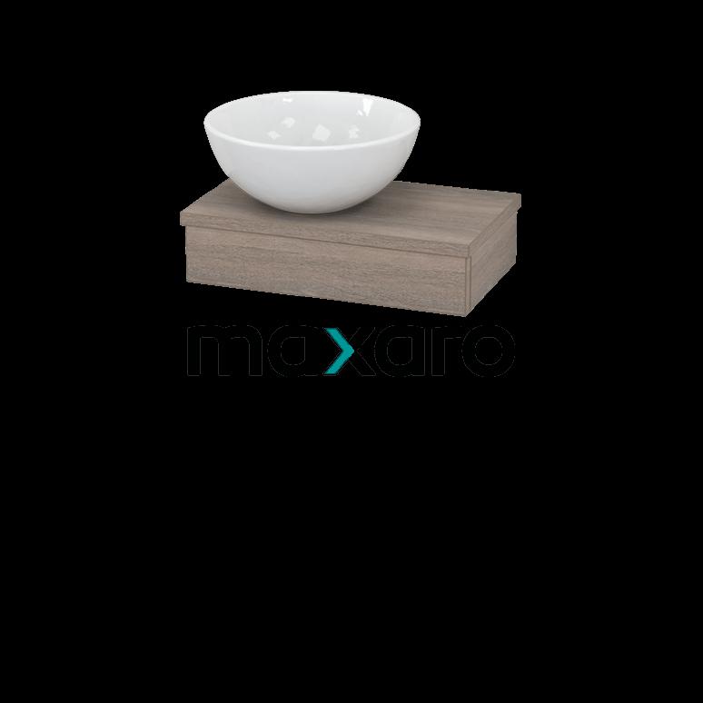 Toiletmeubel met Waskom Keramiek Modulo+ Pico Eiken 40cm