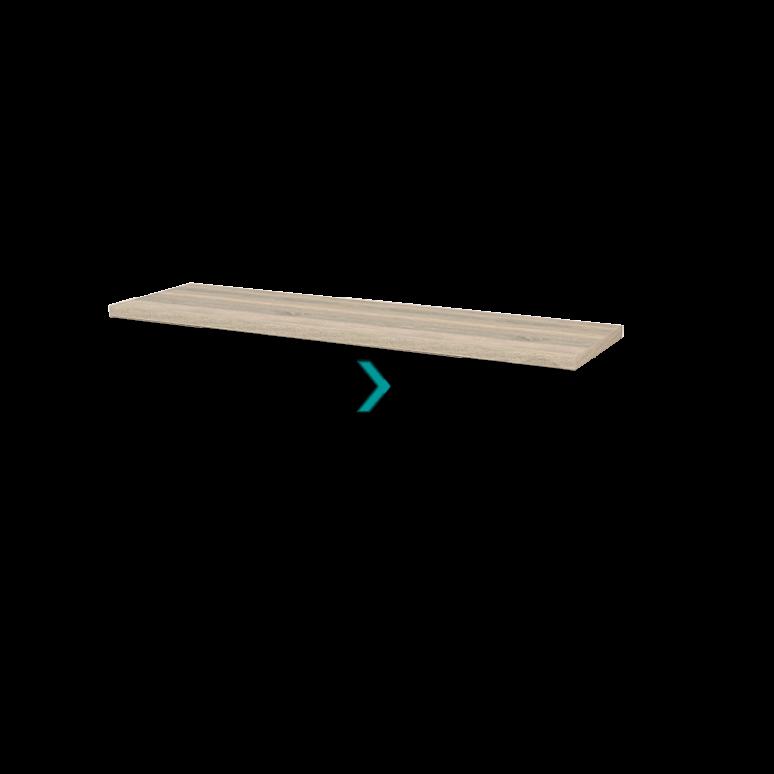 Wastafelblad Modulo+ Plato 160cm Eiken
