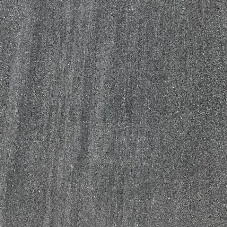 Tegel Alpen 303-010102 Vloertegel/Wandtegel Alpen Basalt 60x60cm Natuursteenlook Antraciet Gerectificeerd