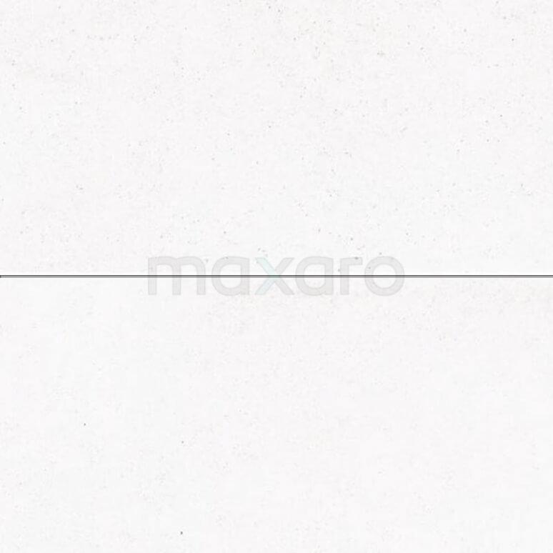 Vloertegel/Wandtegel Viene Grijswit 45x90cm Natuursteenlook Wit Gerectificeerd